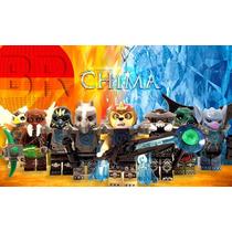 Chima Adventures | 8 Personajes 100% Compatibles Con Lego