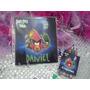 12 Invitaciones Angry Birds Cuento Para Coloreal Y Crayolas