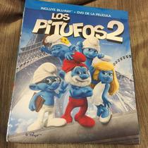 Los Pitufos 2 Nueva Y Sellada Bluray