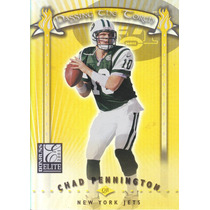 2001 Donruss Elite Passing The Torch Chad Pennington /1000