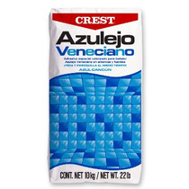 Pega Azulejo Crest Blanco Para Alberca Bulto 20kg