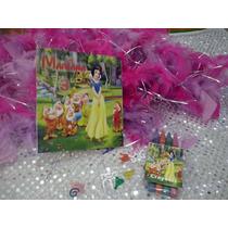 12 Invitacion Blanca Nieves Cuento Para Coloreal Y Crayolas