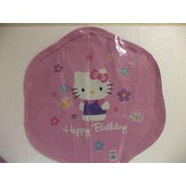 Globos Hello Kitty Fiestas 5 Pz Metálicos Helio 18 Pulgadas