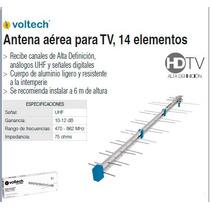 Antena Aérea De 14 Elementos Hdtv Voltech