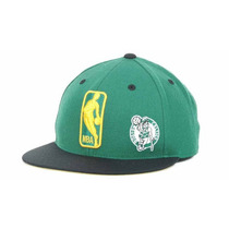 Boston Celtics Gorra Mitchell & Ness Nba Mod Logoman Cerrada