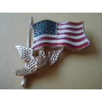 Pin Bandera De E.u. 19.2 Grs. De Coleccion