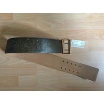 Cinturon Michael Kors Mk Piel Fina Piton Edicion Especial!!