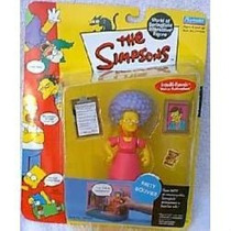 World Of Springfield Wos Simpsons Serie 4 Patty Bouvier