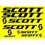 Jgo De 7 Calcomanias Para Bicicleta Scott