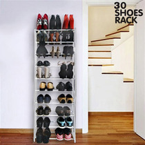 Zapatera Rack Para 30 Pares De Zapatos 10 Niveles Resistente