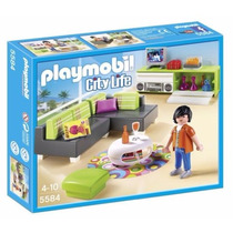 Playmobil 5584 Sala Moderna Casa Mansion Lujo Retromex