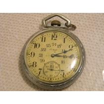 Reloj De Bolsillo Elgin Ferrocarrilero Rm4