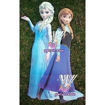 Móvil Y Letrero Felicidades Frozen