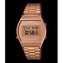 Reloj Casio B640 Color Dorado Rosado