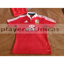 Jersey De Rugby Adidas British Union 100% Unico