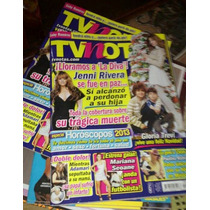Gloria Trevi, Jenni Rivera, Revista Tv Notas Magazine 2012