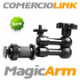 Brazo Articulado Magic Arm Para Montar Camaras, Lamparas
