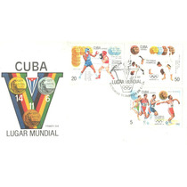 Sc6-cuba 3 Fdc Deportes Victorias Olímpicas Barcelona 92-vv4