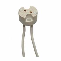 Socket Base Para Foco Led O Dicroico Mr-16 Nueva Blanco