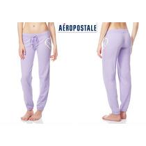 Si Envio Pants Xs Aeropostale Lila Extra Chico Mujer Logo