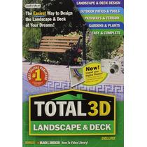 Total 3d Landscape & Deck Deluxe Software De Diseño