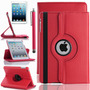 Kit Funda Giratoria 360° Ipad Mini Retina +mica + Stylus Op4