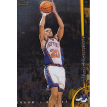 1998-99 Topps Finest No Protectors Allan Houston Knicks