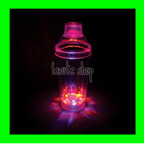 Shaker Mezclador Agitador Luminoso Led Multicolor Bar Coctel