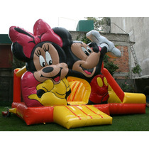 Renta De Inflables Mickey Mouse!