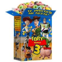 Mega Kit Imprimible Toy Story3 + Invitación Cajitas Recuerdo