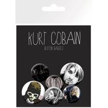Kurt Cobain Insignia - Paquete Roca Oficial Música Grunge I