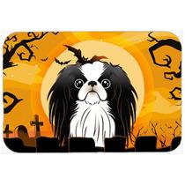 Halloween De Chin Del Japonés De La Cocina O El Baño Mat 2