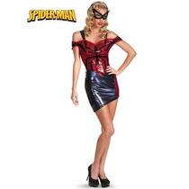 Disfraz De Spiderman, Spiderwoman, Hombre Araña Para Damas