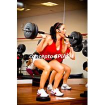 Barra Para Body Pump O Lift Training, Gym. Ejercicio, Discos