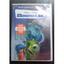 Dvd Monster Inc Disney Español Ingles *nuevo 1ra Edicion