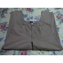 Pantalon D Mezclilla Jeans Liz Claiborne Dama 16-38-40 Camel