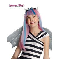 Peluca De Monster High Rochelle Goyle Para Niñas