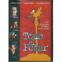 Todo El Poder. Demian Bichir Y Cecilia Suarez. Formato Dvd