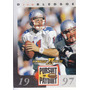 1997 Pinnacle Xpress Pursuit Drew Bledsoe Qb Patriots