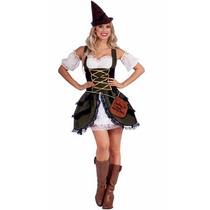 Disfraz Medieval, Historico, Robin Hood Para Damas
