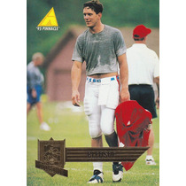 1995 Pinnacle Comeback Drew Bledsoe Qb Patriots