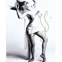 Foto 8x10 Autografiada Por La Cantante Lady Gaga Con Coa
