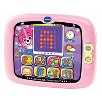 Tablet Para Bebe Vtech Light-up Baby Touch Juego - Rosa