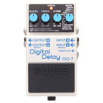 Pedal De Efectos Boss Digital Delay, Dd-7
