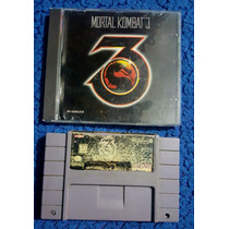 Mortal Kombat 3 Para Super Nintendo Y Pc, Snes