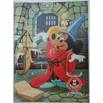 Mickey Mouse 1968 Fernandez Editores Libro P/colorear Hm4