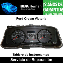Ford Crown Victoria 96 97 98 Tablero Instrumentos Reparacion