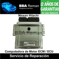 Nissan Hitachi Sentra Altima Micra Ecm Ecu Pcm Reparación