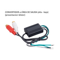 Convertidor De Señal De Audio De Auto Para Amplificador Lc07