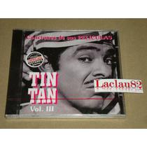 Tin Tan Canciones De Sus Peliculas #3 1998 Orfeon Cd Nuevo